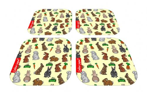 Selina-Jayne Rabbits Limited Edition Designer Coaster Gift Set
